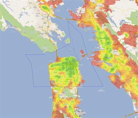 san francisco fog map crime map san francisco bay area michigan map