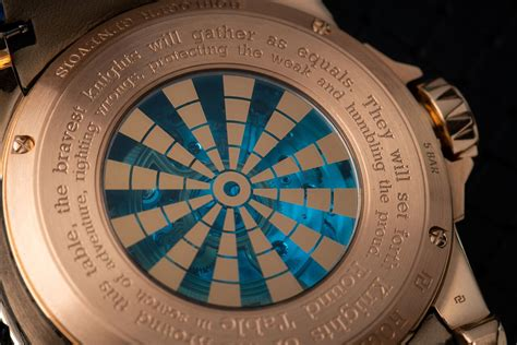 excalibur knights of the table roger dubuis launches excalibur knights of the table iii