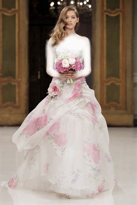 pink designer wedding dresses pink wedding dresses pinktober knotsvilla