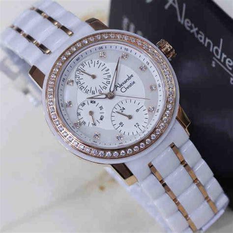 Jam Tangan Wanita Cewek Alexandre Christie Rantai Ac 6455 Lbg 10 jam tangan wanita alexandre christie cantik jam