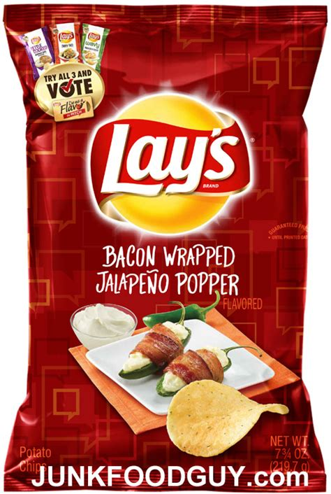 review lays bacon wrapped jalapeno popper potato chips     baby driver junk
