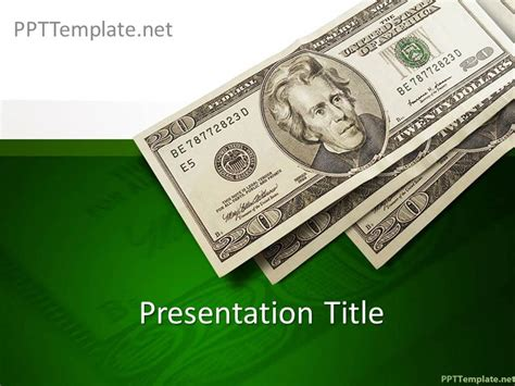 template for money free money ppt template