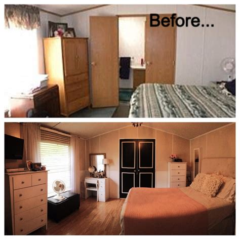 home renovation ideas interior before and after single wide trailer manufactured mobile