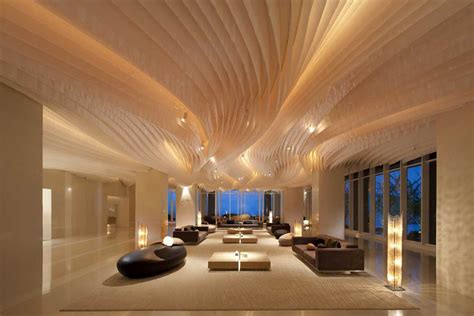 cool ceiling designs unique modern wooden ceiling designs for office