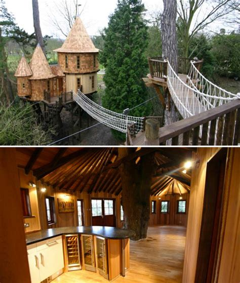 the canopy treehouses fairytale retreats 15 magical blueforest tree houses