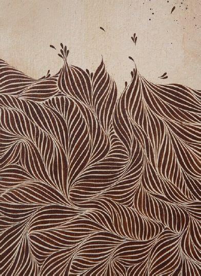 Abstract Organic Pattern   beautiful abstract organic pattern surface design design
