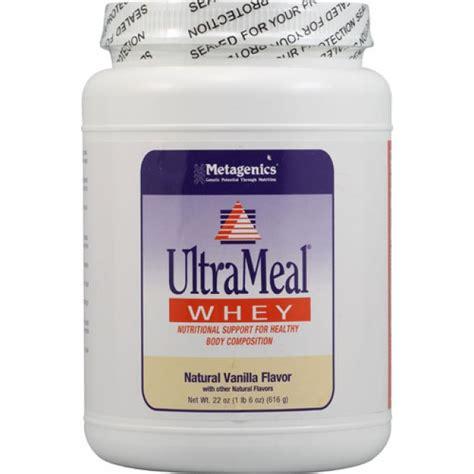 Metagenics Protein Powder Detox by Metagenics Ultrameal Whey Vanilla 23 2 Oz Powder The