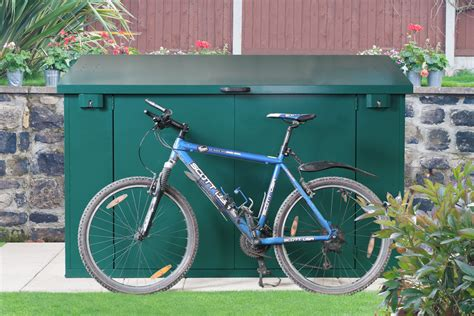 Asgard Bike Shed by Bike Storage For 4 Bikes Approved Metal Bike Sheds From Asgard