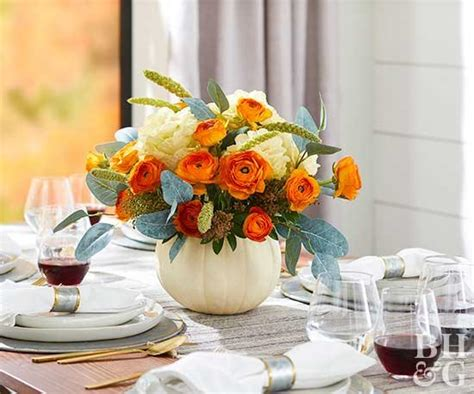 would like to make a small table centerpiece for christmas pretty thanksgiving centerpieces better homes gardens