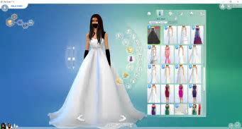 Sims 3 wedding dress   Find you dress