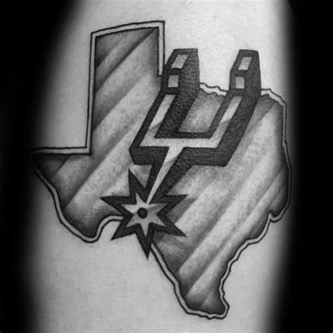 spurs tattoos 30 san antonio spurs tattoos for basketball ink ideas