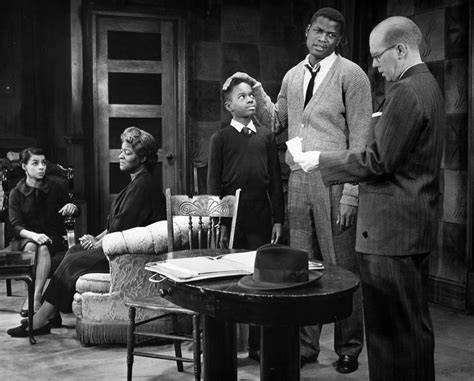 a raisin in the sun racial themes scene from the play ruby dee as ruth claudia mcneil as