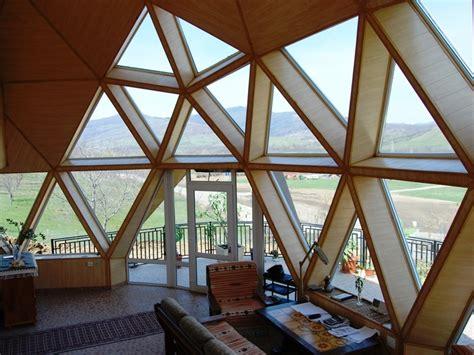 Geodesic Dome Home Interior Interior Cupula Geodesica Cupulas Geodesicas Interiors