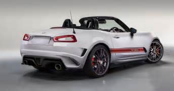 Spider Abarth What Motors Will Be In The 2016 Fiat Abarth Spider Autos