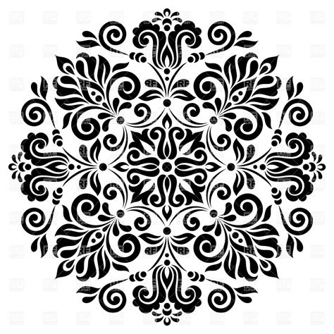 black and white round pattern free circle pattern cliparts download free clip art free