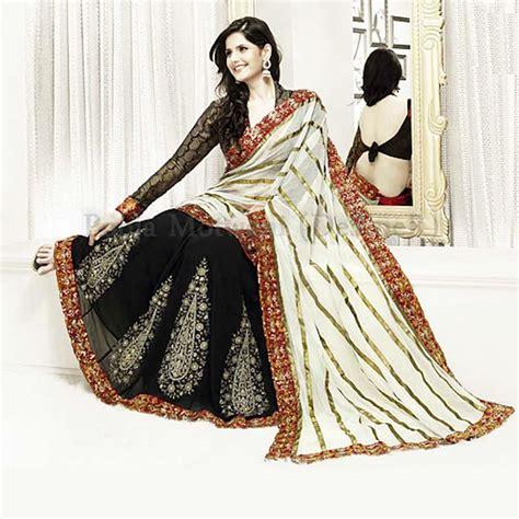 pooja online shopping black net saree pooja motwani online shopping