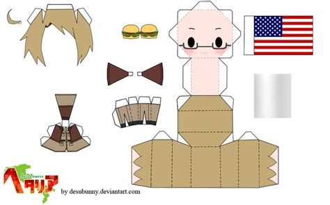 Chibi Papercraft Maker - 17 best images about stencels to make on