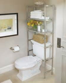 Bathroom Storage Ideas Over Toilet by 5 Great Bath Storage Ideas