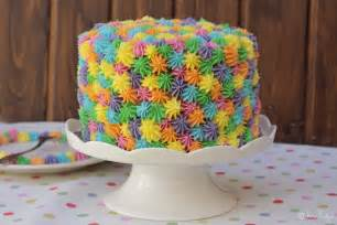 de colores cake tarta primaveral el rinc 243 n de bea