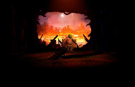 Fiona Overall By Lava shrek the musical on behance