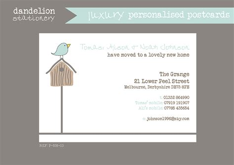 template business card new address address cards templates 28 images sammy s address