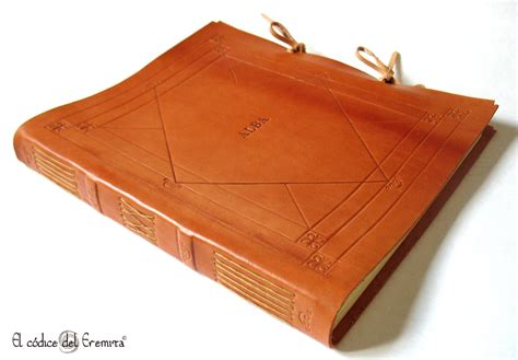 Handmade Leather Photo Album - custom handmade leather photo album wedding guest book by