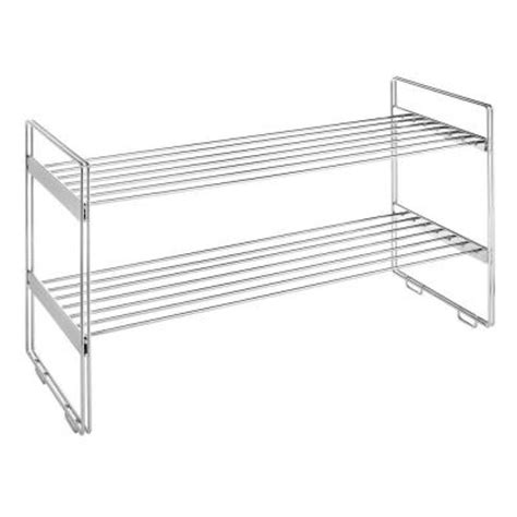 Stackable Closet Shelves whitmor supreme shelving collection 30 in x 16 63 in