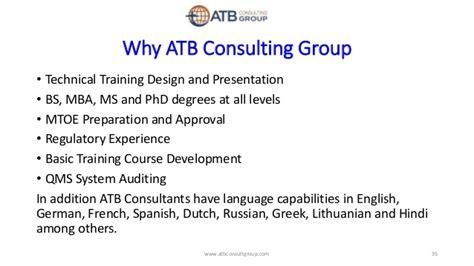 Atb Mba by Master Easa Presentation