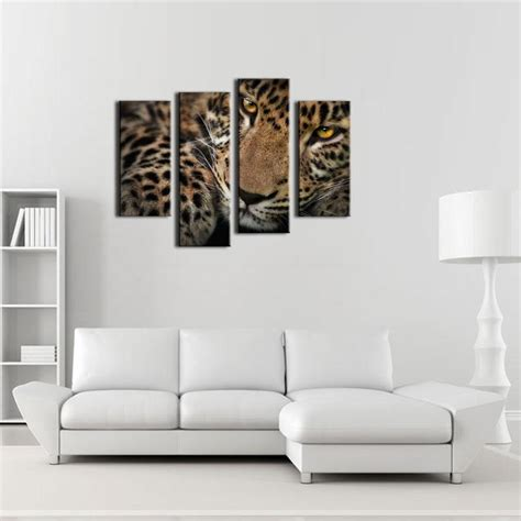 cheap home decor items online get cheap leopard print wall art aliexpress com