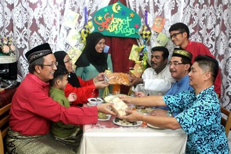 malaysia new year open house celebration openhouse selamat hari raya aidilfitri nation the