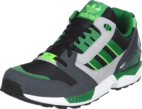 green adidas shoes adidas zx 8000 shoes black green