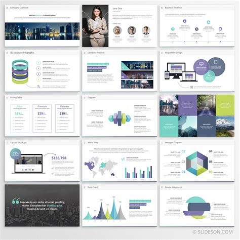 Business Presentation Template For Powerpoint Slideson Company Presentation Template