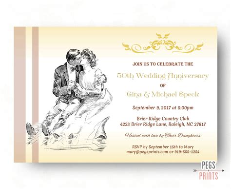 50th birthday party invitations little flamingo