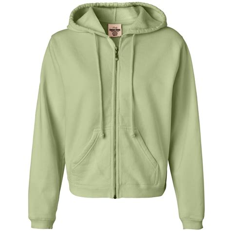 comfort colors celadon comfort colors 1598 women s garment dyed ringspun hooded
