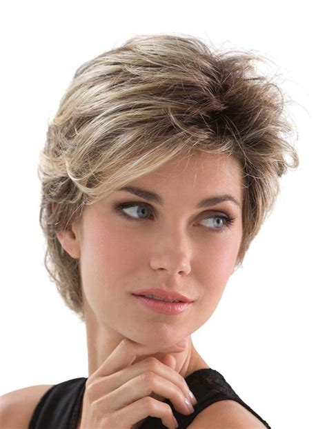sles of short hairstyles short shaggy hot sale capless synthetic hair wigs