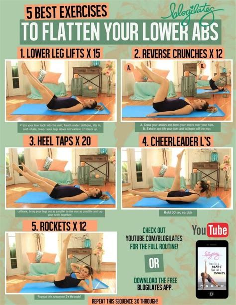 25 best ideas about lower abdominal workout on