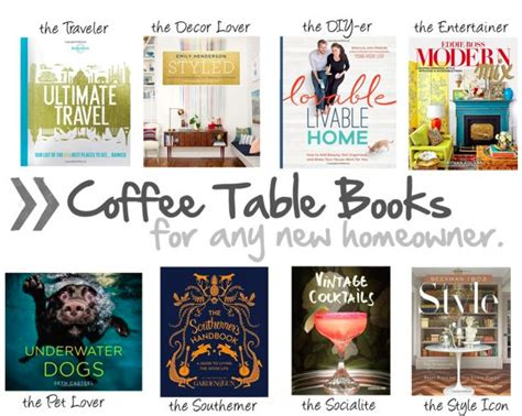 what are the best coffee table books for my new home