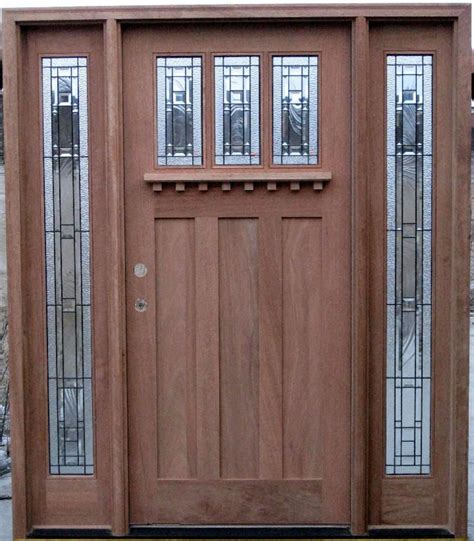 Craftsman Style Exterior Doors Home Decor Craftsman Exterior Doors