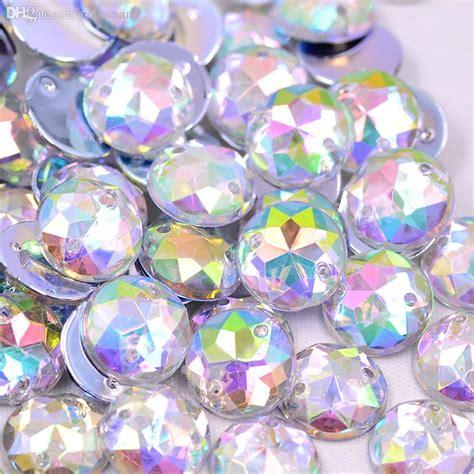 wholesale mm sew  crystal clear ab rhinestone