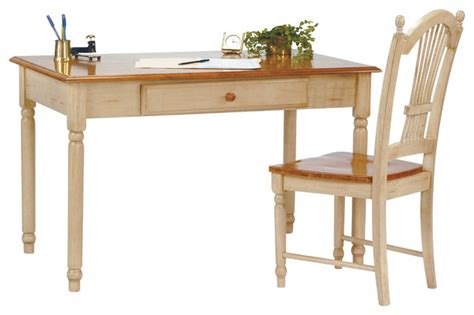 Country Cottage Desk by Country Cottage Cherry And Antique White Computer Desk
