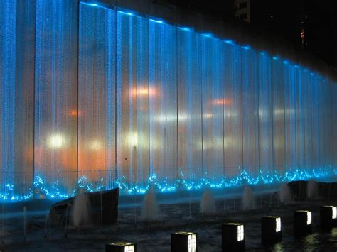 fiber optic curtains china fiber optic waterfall fiber optic curtain kfc 021