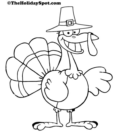 turkey color coloring book thanksgiving turkey coloring pages