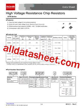 chip resistors datasheet rohm chip resistor datasheet 28 images mcr100jzhfl datasheet pdf rohm mnr14 datasheet pdf