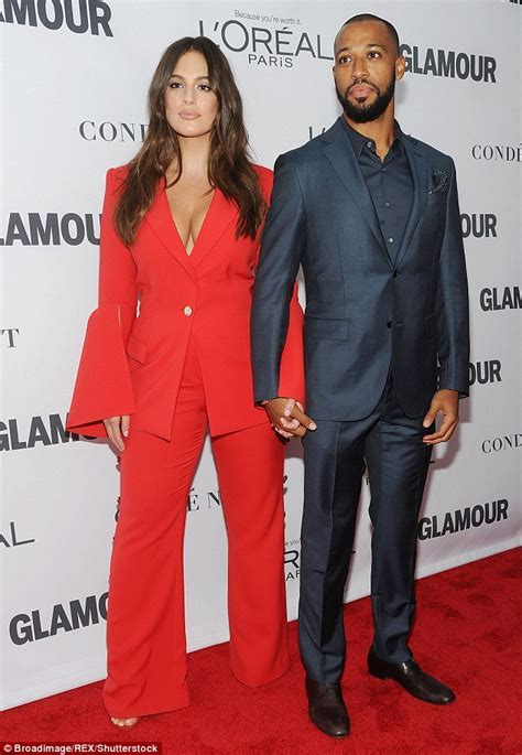 Ashley Graham gushes over husband Justin Ervin as they