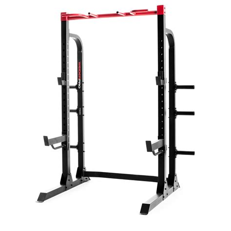 Weider Pro Power Rack Reviews by Weider Pro 7500 Power Half Rack
