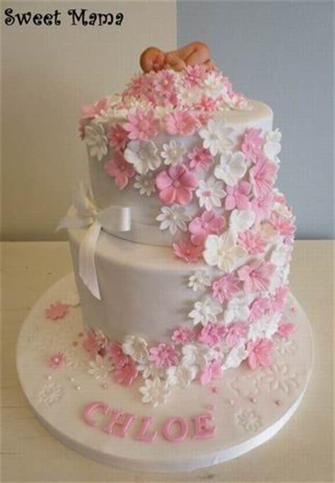 fiori per battesimo bimba torte battesimo e baby shower sweet cake