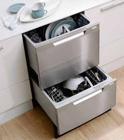 2 Drawer Dish Washer Two Drawer Dishwasher Edit Home