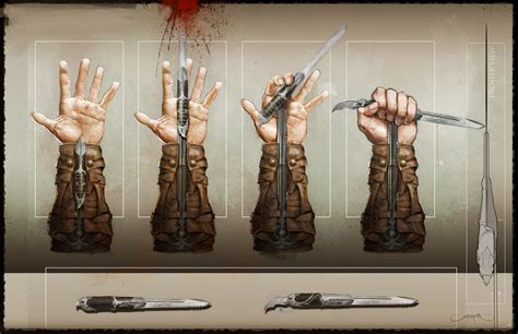2l design concept kuchai lama which assassin has the most baddass hidden blades