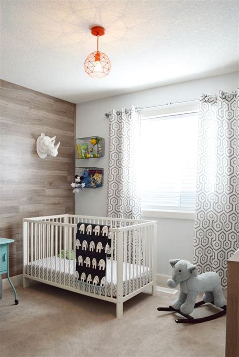 Curtain Rods For Nursery Hank S Room Tour Featuring Maple Laminate Wood Wall And Diy Plumbing Pipe Curtain Rod Kiddies