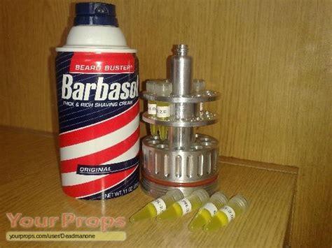 Bathroom Buddy Replica Jurassic Park Dennis Nedry Barbasol Cryocan Replica Prop